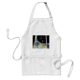 Ring Space Station - Outer Space Construction Adult Apron