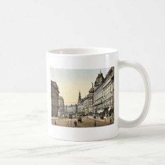 Ring Street, Budapest, Hungary, Austro-Hungary rar Coffee Mug