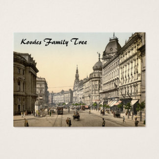 Ring Street, Budapest, Hungary Business Card
