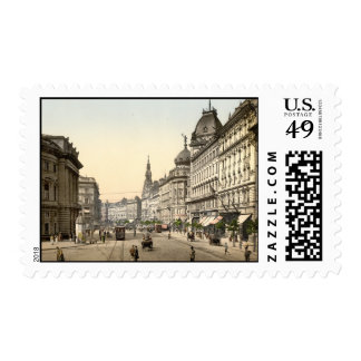 Ring Street Budapest Hungary Postage