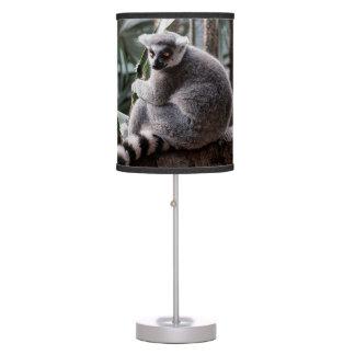 Ring Tail Lemur Wildlife Animal Photo Table Lamp