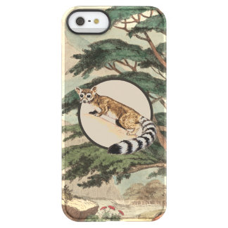 Ring-Tailed Cat In Natural Habitat Illustration Uncommon Permafrost® Deflector iPhone 5 Case