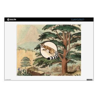 Ring-Tailed Cat In Natural Habitat Illustration Skin For Laptop