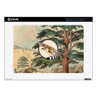 Ring-Tailed Cat In Natural Habitat Illustration Samsung Chromebook Skin