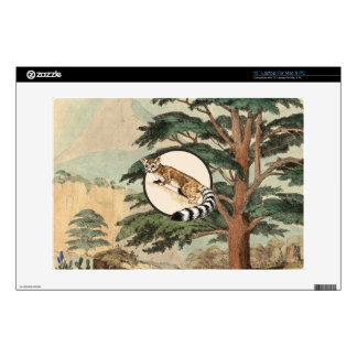 "Ring-Tailed Cat In Natural Habitat Illustration Skins For 13"" Laptops"
