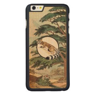 Ring-Tailed Cat In Natural Habitat Illustration Carved® Maple iPhone 6 Plus Slim Case