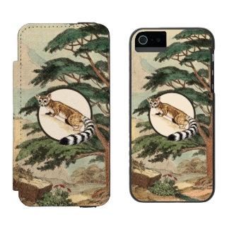 Ring-Tailed Cat In Natural Habitat Illustration Incipio Watson™ iPhone 5 Wallet Case