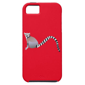 Ring-Tailed Lemur iPhone 5 Cases