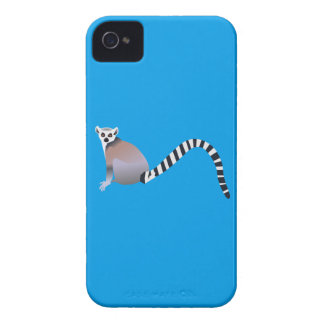 Ring-Tailed Lemur iPhone 4 Covers