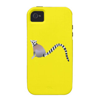 Ring-Tailed Lemur Case-Mate iPhone 4 Cases