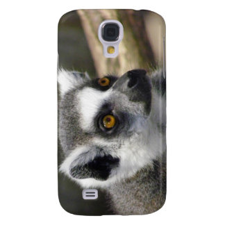 Ring-Tailed Lemur Close Up Portrait Samsung Galaxy S4 Cover