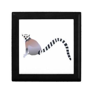 Ring-Tailed Lemur Jewelry Box