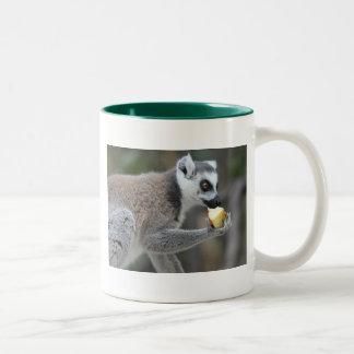 Ring-Tailed Lemur -- Snack Time! Mug