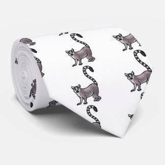 Ring Tailed Lemur Tie