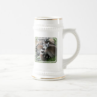 Ring Tailed Lemurs Beer Stein Mugs