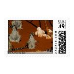 Ring-tailed Lemurs, Madagascar Postage