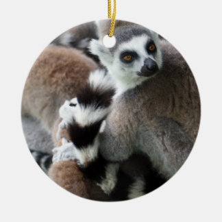 Ring Tailed Lemurs Ornament