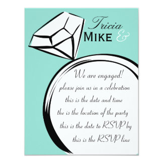Ring Thing 4.25x5.5 Paper Invitation Card