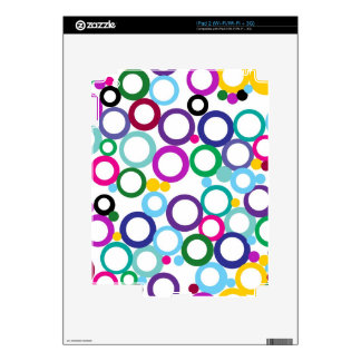 Ring Toss Decals For iPad 2