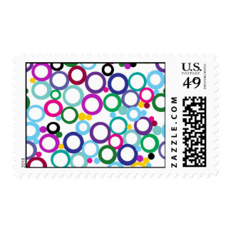Ring Toss Postage Stamps