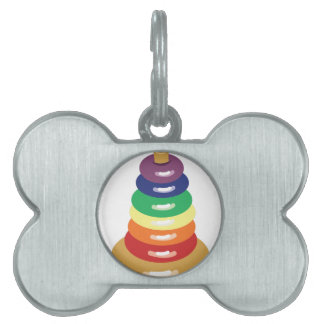 Ring Toy Pet Tag