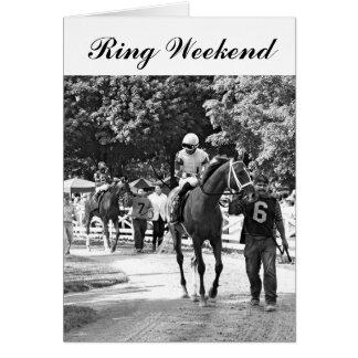 Ring Weekend Card