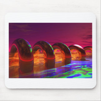 ring with fire mouse pad