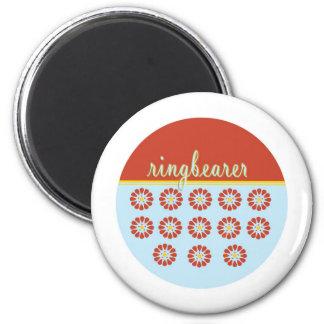 ringbearer 2 inch round magnet