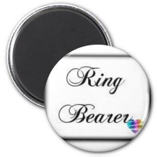 Ringbearer-box 2 Inch Round Magnet