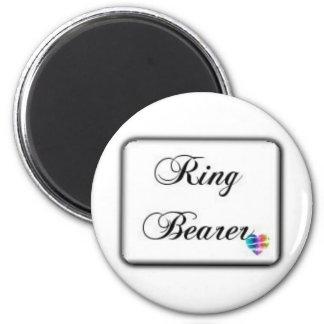 Ringbearer-box Imán Redondo 5 Cm