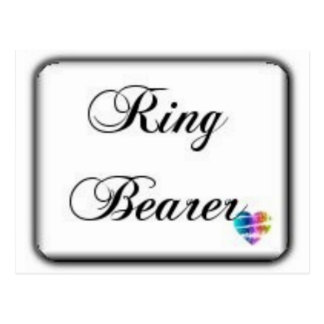 Ringbearer-box Postcard