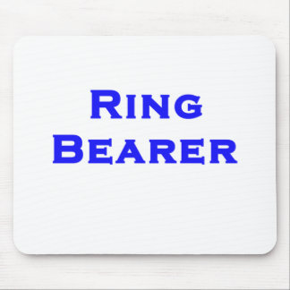 ringbearer boy mouse pad