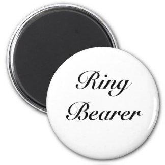 ringbearer girly 2 inch round magnet