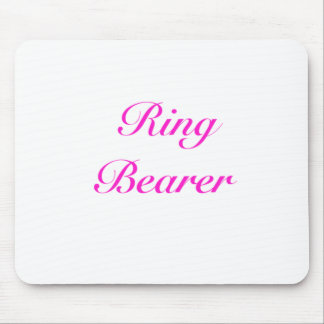 ringbearer girly mouse pad