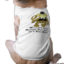 Ringbearer/ Monkey Shirt