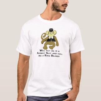 Ringbearer/ Monkey T-Shirt