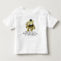 Ringbearer/ Monkey Toddler T-shirt