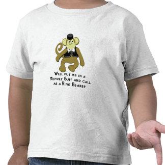 Ringbearer Monkey Tshirts