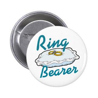 Ringbearer Pin Redondo De 2 Pulgadas