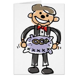 Ringbearer Wedding Rings Pillow Cards