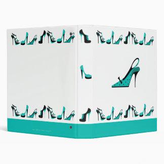 Ringbinder del zapato - turquesa