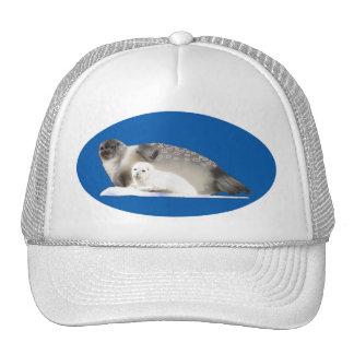Ringed Seal Trucker Hats