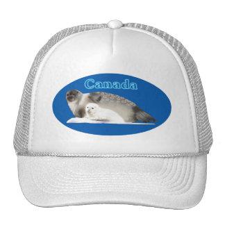 Ringed Seal Mesh Hat