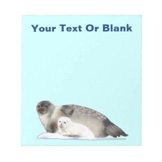 Ringed Seal Note Pad