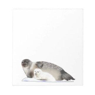 Ringed Seal Notepad