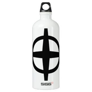 Ringed Star Aluminum Water Bottle