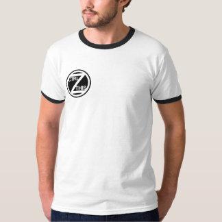Ringer CTRL Z THIS T-Shirt
