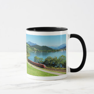 Ringer cup black large Alpsee with Immenstadt