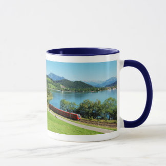 Ringer cup blue large Alpsee with Immenstadt
