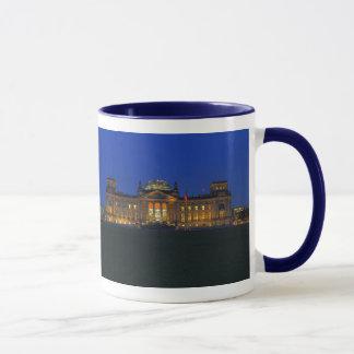 Ringer cup dark-blue Berlin Reichstag in the